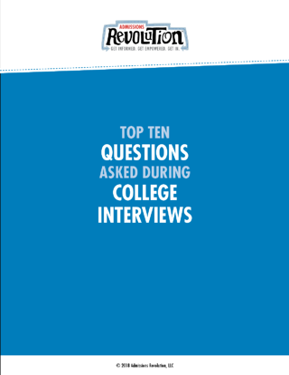 Top 10 questions asked during college interviews