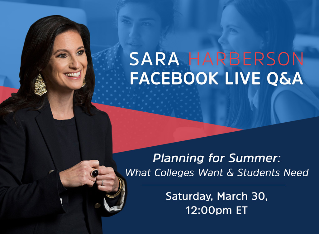 Sara Harberson Facebook Live Q&A: Summer Planning
