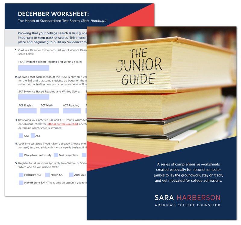 Download Sara Harberson's free Junior Guide